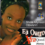 CD - Shola Allyson - Eji Owuro - Audio CD