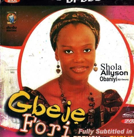 Shola Allyson - Gbeje Fori - Video CD