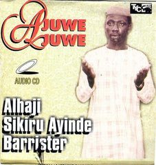 CD - Sikiru Barrister - Ajuwe Juwe - Audio CD