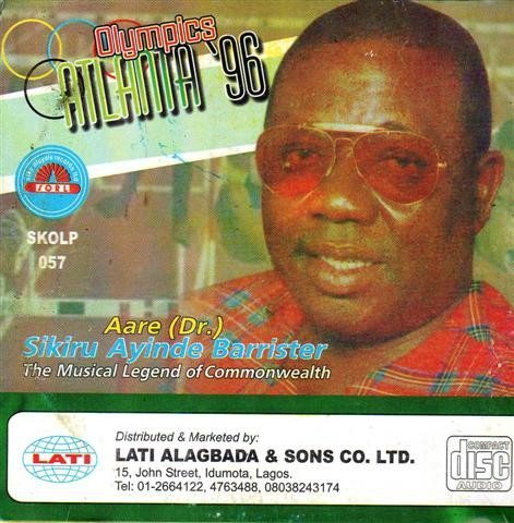 Sikiru Barrister - Atlanta 1996 - CD