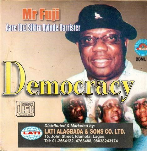 Sikiru Barrister - Democracy - Audio CD