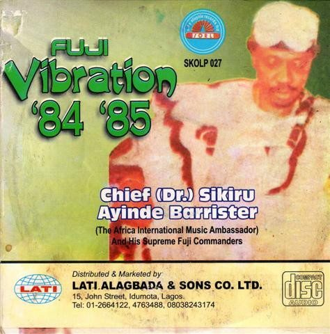 CD - Sikiru Barrister - Fuji Vibration - CD