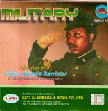CD - Sikiru Barrister - Military - Audio CD