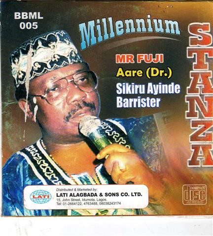 CD - Sikiru Barrister - Millenium Stanza - CD