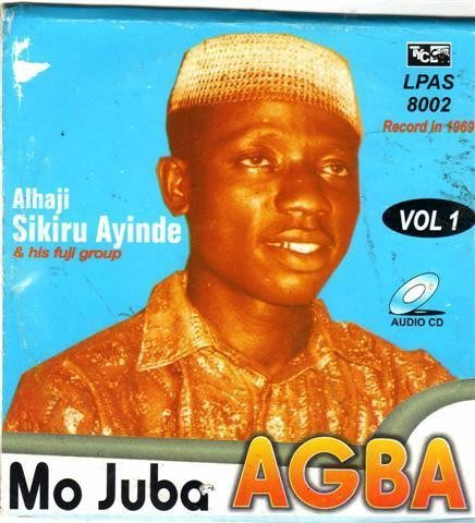 CD - Sikiru Barrister - Mo Juba Agba - Audio CD