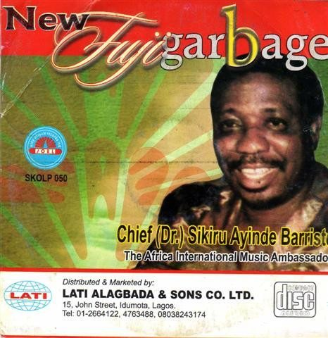 Sikiru Barrister - New Fuji Garbage - Video CD