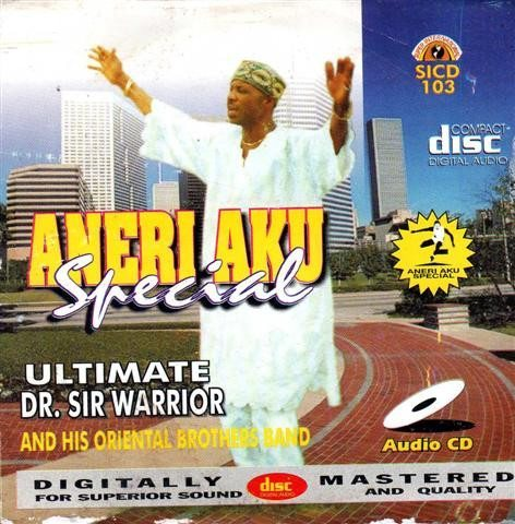 Sir Warrior.Oriental - Aneri Aku Special - CD