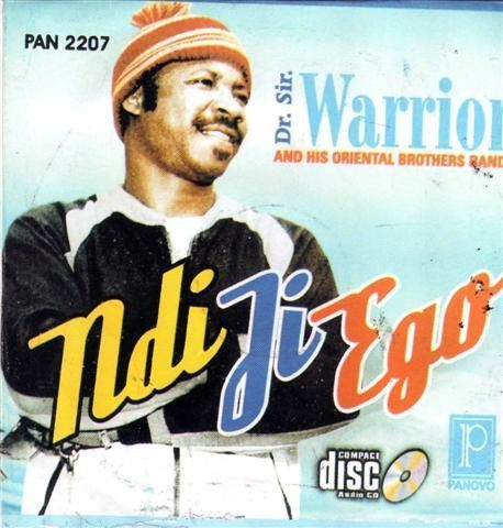 CD - Sir Warrior Oriental - Ndi Ji Ego - CD