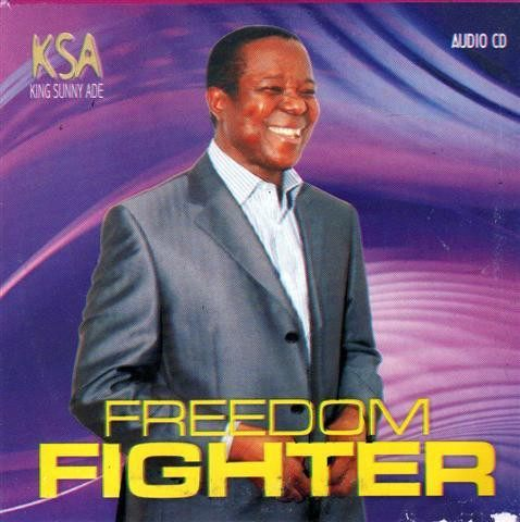 CD - Sunny Ade - Freedom Fighter - Audio CD