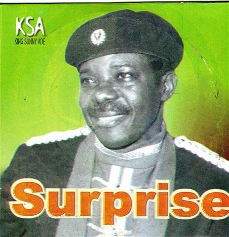 CD - Sunny Ade - Surprise - Audio CD