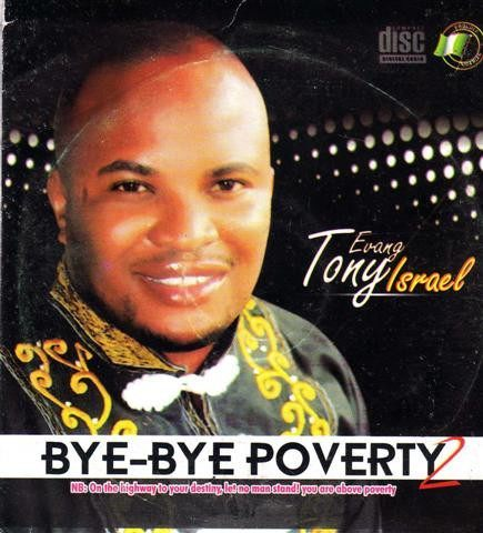 CD - Tony Israel - Bye Bye Poverty 2 - Audio CD
