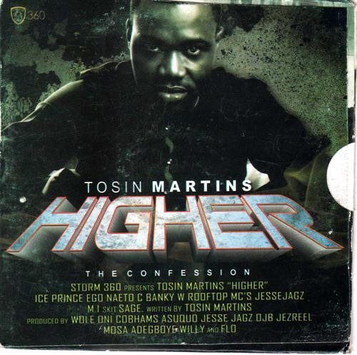 CD - Tosin Martins - Higher - Audio CD