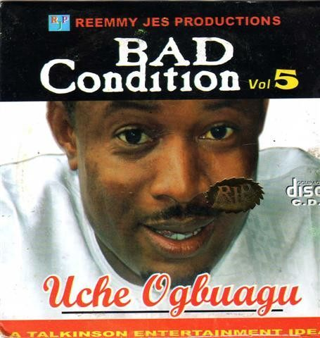 CD - Uche Ogbuagu - Bad Condition Vol 5 - CD