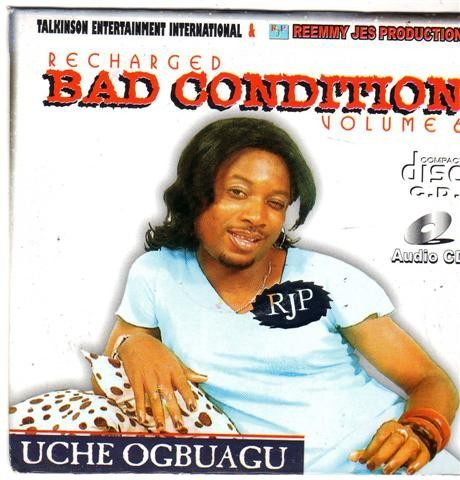 CD - Uche Ogbuagu - Bad Condition Vol 6 - CD