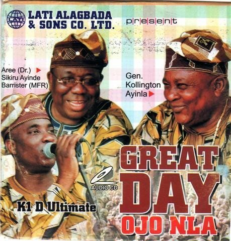 Various Artists - Great Day Ojo Nla - CD