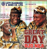 CD - Various Artists - Great Day Ojo Nla - Audio CD