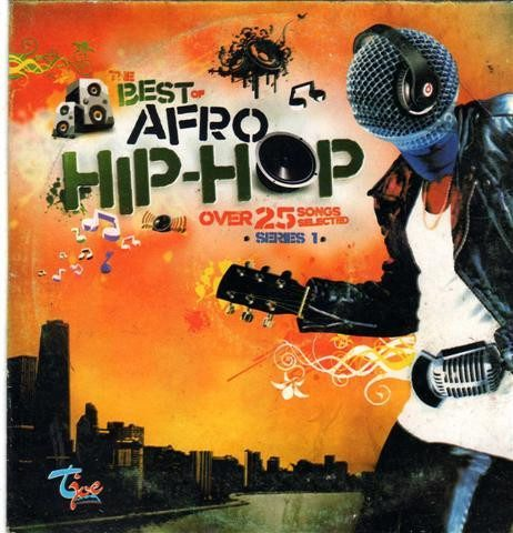 CD - Various Artists - The Best Afro Hip Hop - CD