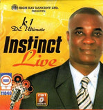 CD - Wasiu Ayinde Marshal - Instinct Live - Video CD