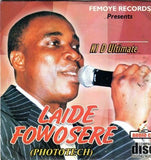 Wasiu Ayinde Marshal - Laide Fowosere - CD - African Music Buy