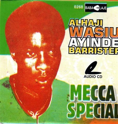 CD - Wasiu Ayinde Marshal - Mecca Special - CD