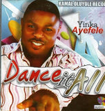 CD - Yinka Ayefele - Dance It All - CD