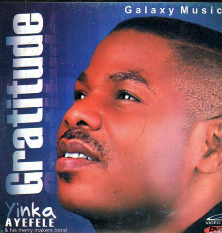 CD - Yinka Ayefele - Gratitude - Video CD