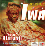 CD - Yusuf Olatunji - Iwa - Audio CD