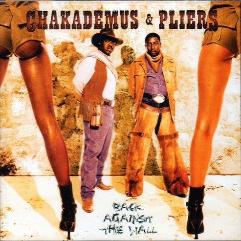 Chakademus & Pliers - Back Against Wall - CD