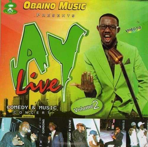 Ay Live - Comedy & Music Vol 2 - Video CD
