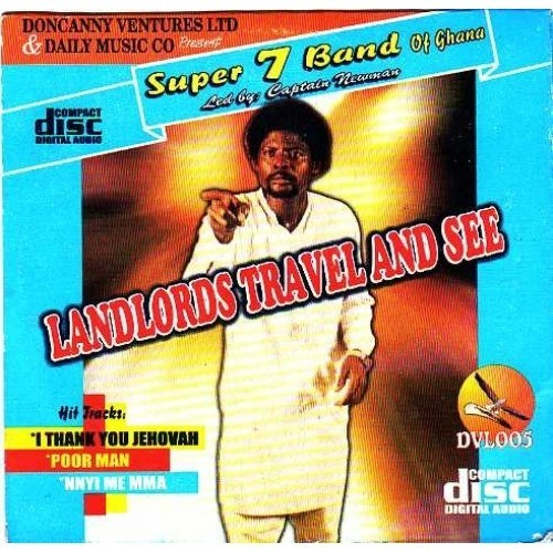Comedy Audio, - Super 7 Band - Landlord Travel And See - CD