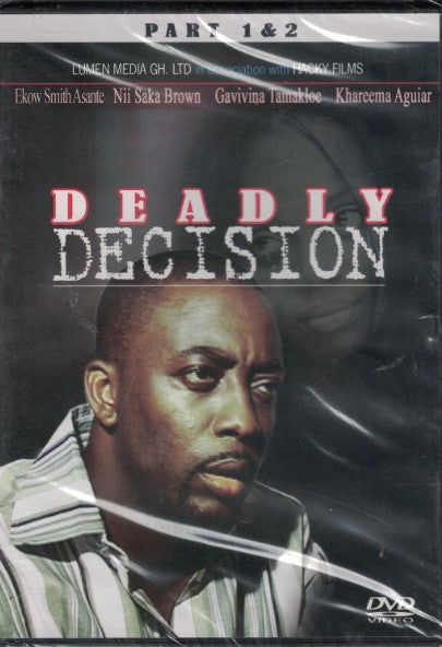 Deadly Decision - African Movie - Dvd