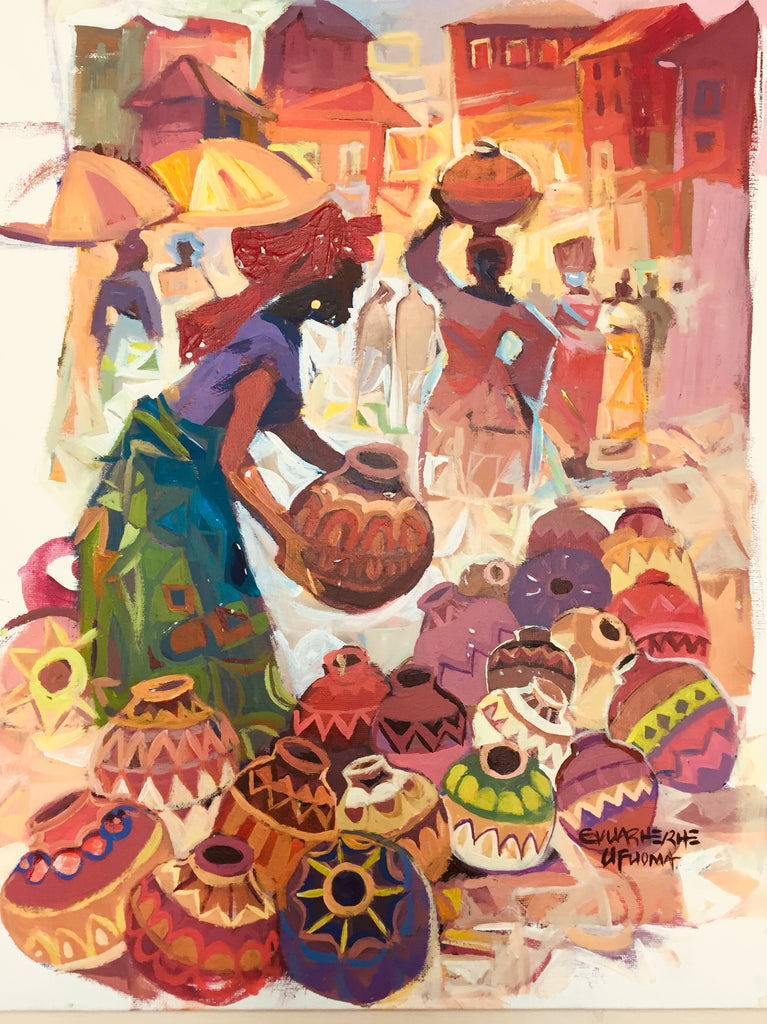 African Painting, African Art 0122