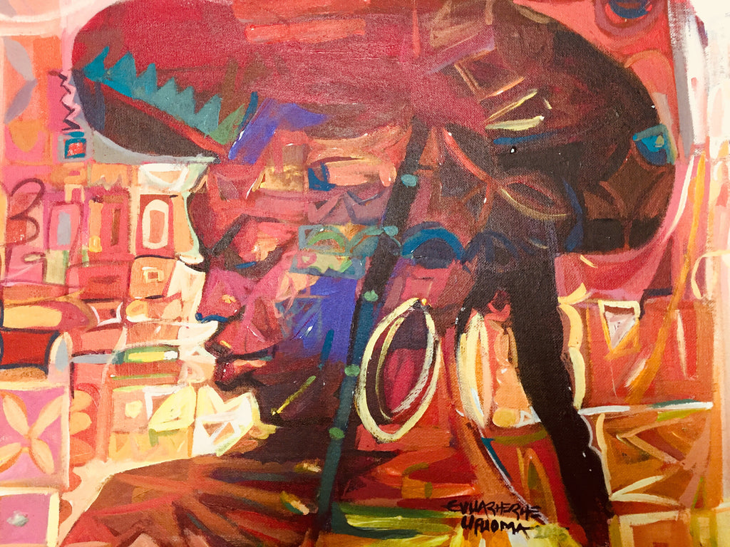African Painting, African Art 01198