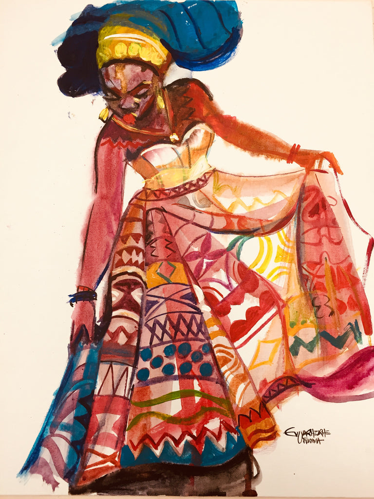 African Painting, African Art 0119