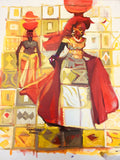 African Painting, African Art 0121 - African Music Buy