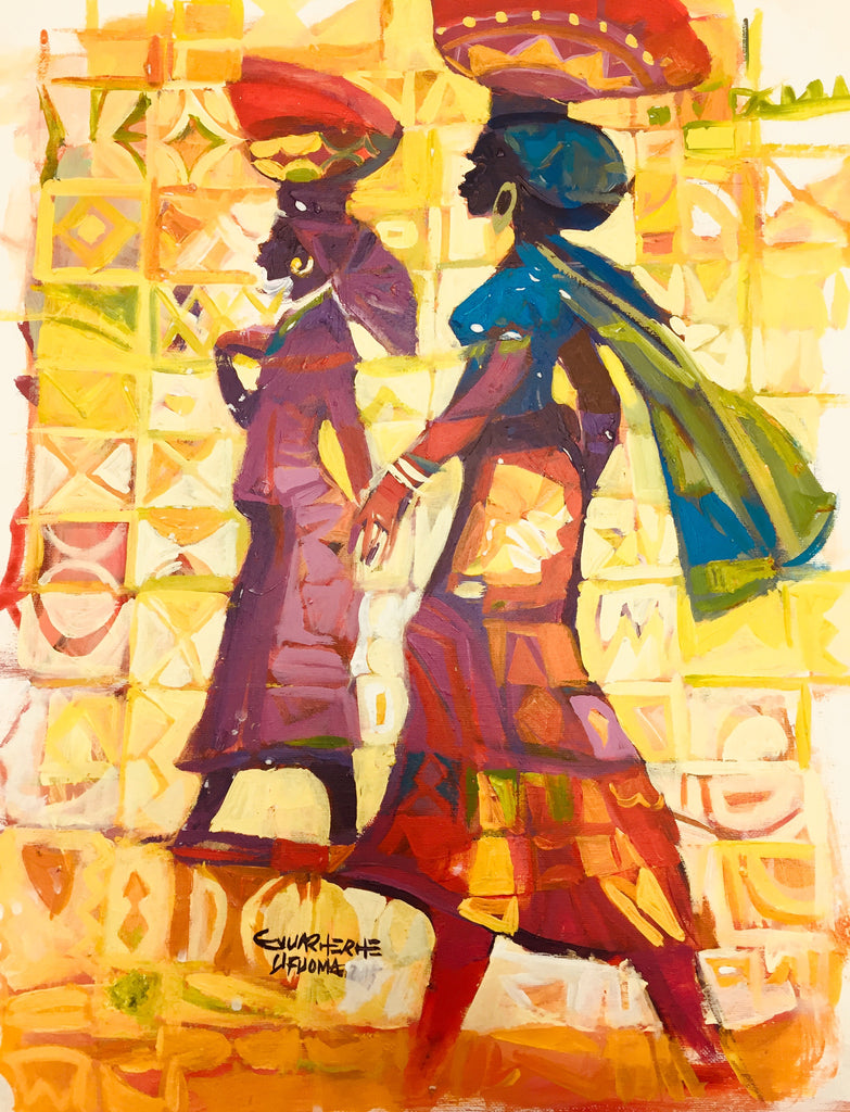 African Painting, African Art 0129