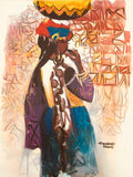 African Painting, African Art 0150 - African Music Buy