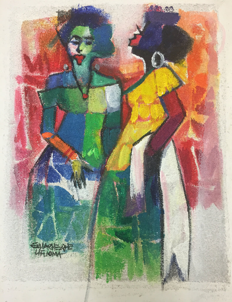 African Painting, African Art 01191