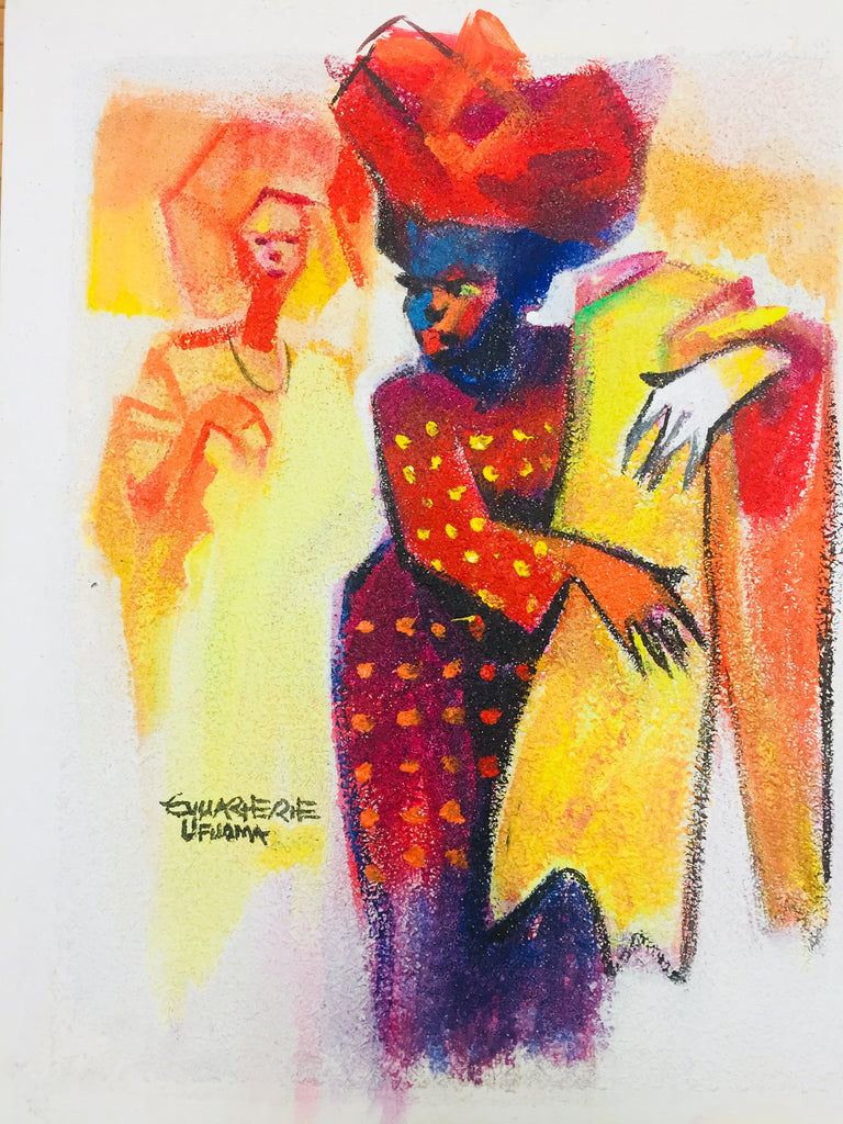 African Painting, African Art 01188