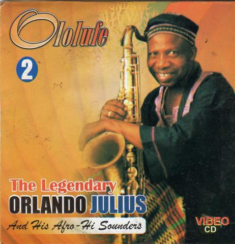 Orlando Julius - Ololufe Vol 2 - Video CD