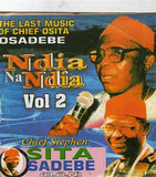 Osita Osadebe - Ndia Na Ndia Vol 2 - CD - African Music Buy