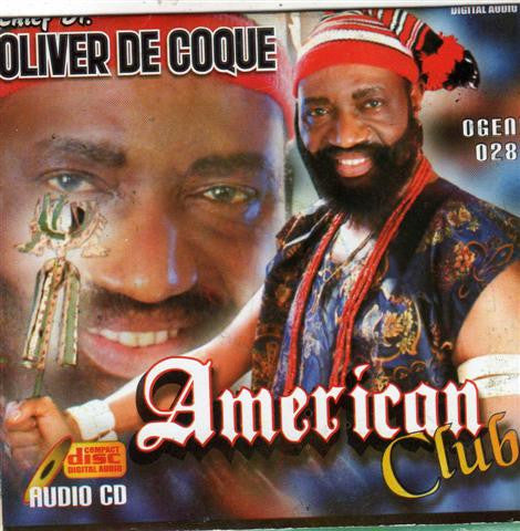 Oliver De Coque - American Club - CD
