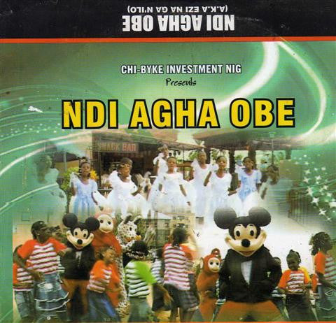 Heavenly Kingdom Kids - Ndi Agha Obe - Video CD