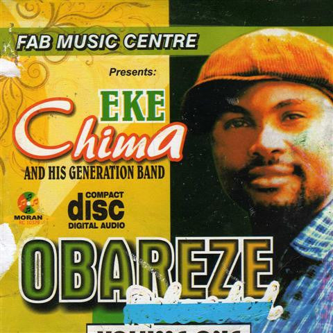Eke Chima - Obareze Vol 1 - CD