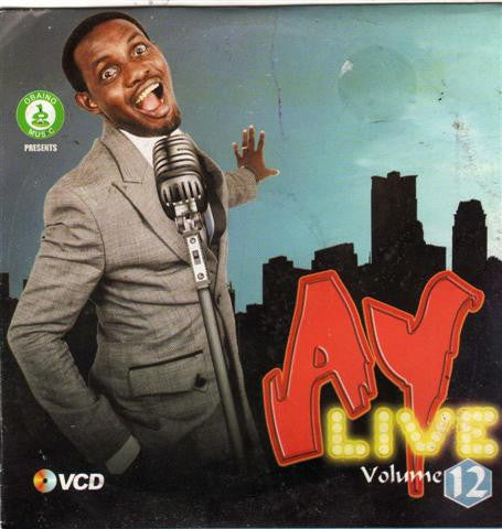 Ay Live - Comedy & Music Vol 12 - Video CD