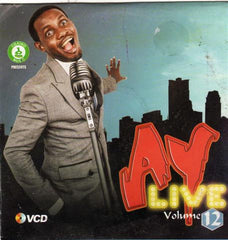 Ay Live - Comedy & Music Vol 12 - Video CD - African Music Buy