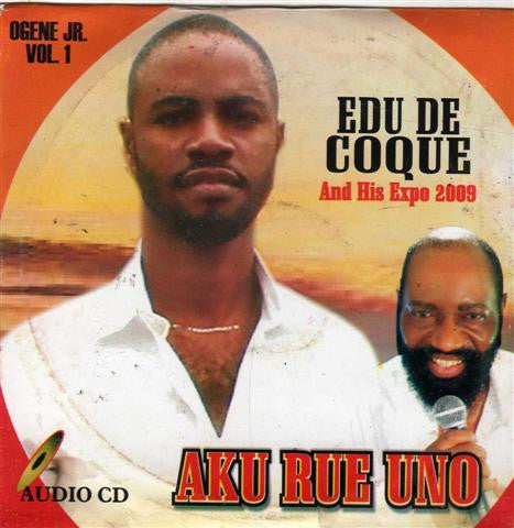 Edu De Coque - Aku Rue Uno - CD