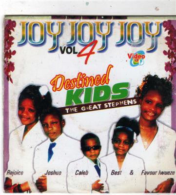 Destined Kids - Joy Joy Joy Vol 4 - Video CD