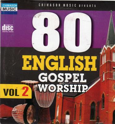 80 English Gospel Worship Vol 2 - CD - African Music Buy