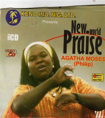 Agatha Moses - New World Praise - Video CD - African Music Buy